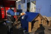 Gölbaşı Belediyesi Atıklardan Sokak Kulübesi Üretti
