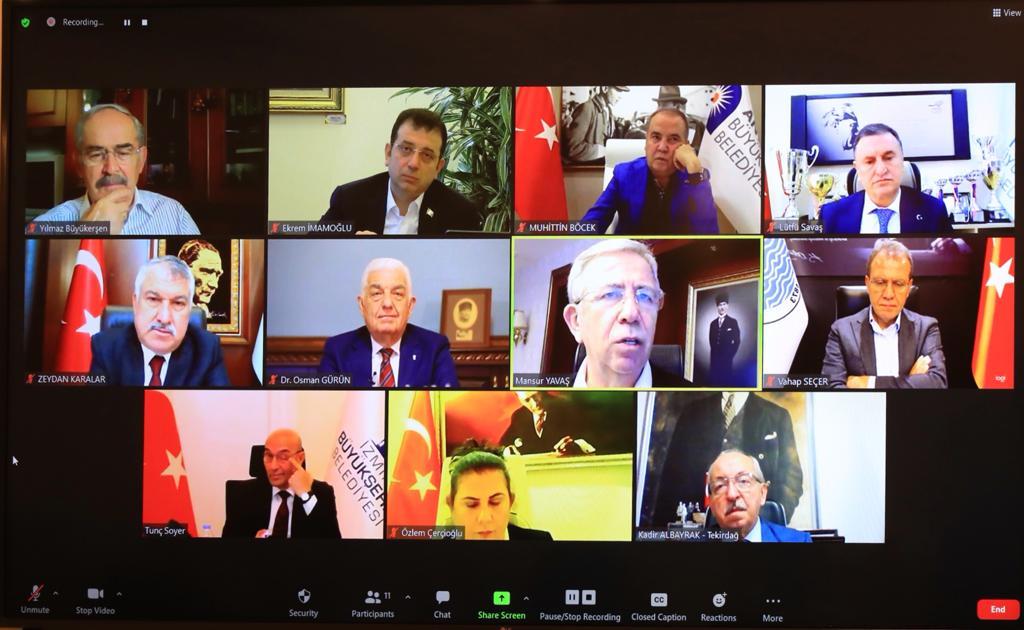 """CHP'li 11 Büyükşehir Belediye Başkanı:Tüm gücümüzü yoksullukla mücadele için birleştirmeliyiz"""""""