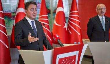 Ali Babacan: 'Güçlendirilmiş parlamenter sistem görüşmelerini başlattık, yeni dönemin kilit kelimeleri diyalog ve istişare'