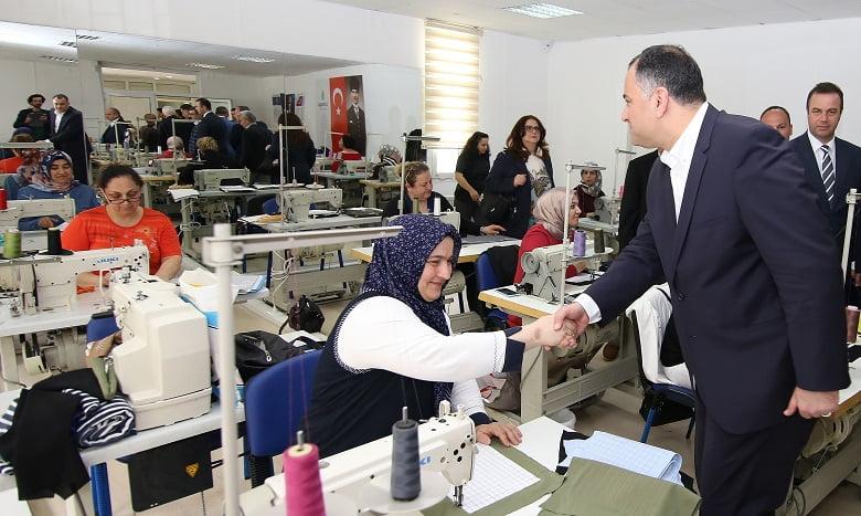 Çankaya Belediyesi kadınlara iş kapısı açıyor
