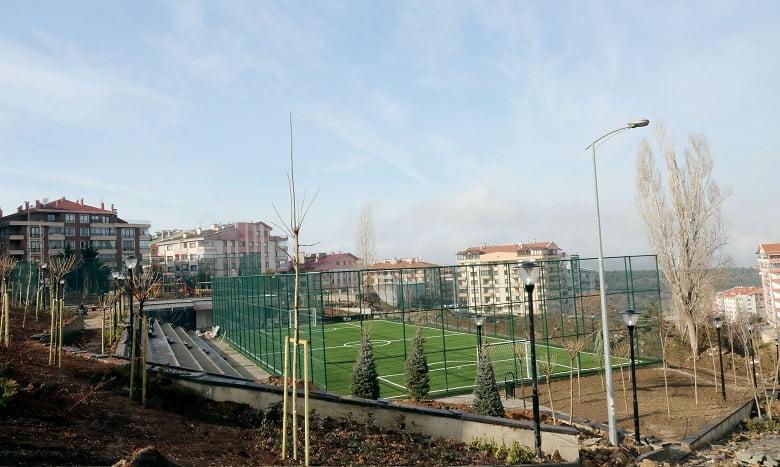 Dikmen Karapınar Spor Parkı'nda sona yaklaşıldı