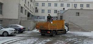 Ankara Büyükşehir 7/24 kar mesaisini sürdürüyor