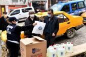 Ankara Zabıtası'ndan Akyurt ve Kalecik'e Hijyen Desteği
