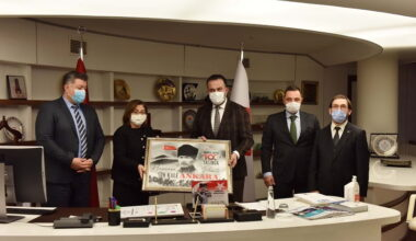 Kent Konseyi'nden Türkiye Belediyeler Birliğine ziyaret