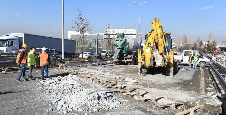 Ankara'da üst geçit ve köprüler yenileniyor