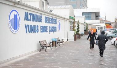 Altındağ'dan esnafa destek