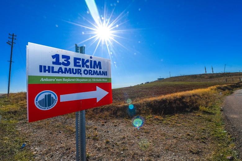 Altındağ'da yeşil rekor