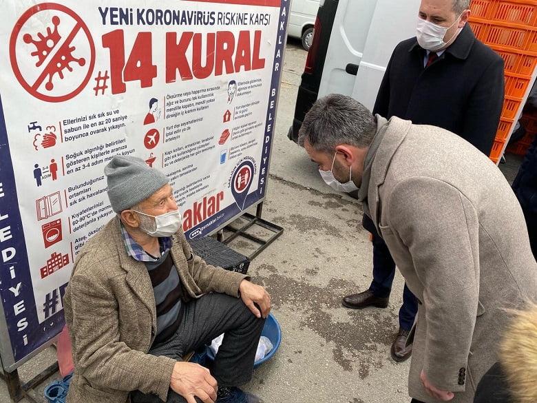 """Pursaklar Belediye Başkanı Ertuğrul Çetin; """"Bu ilçede kimse kendini yalnız hissetmeyecek"""""""