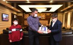 Başkan Ertuğrul Çetin Ankara Birincisini Ağırladı