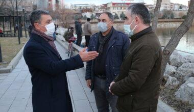 Gölbaşı Belediye Başkanı Şimşek vatandaşlarla buluştu