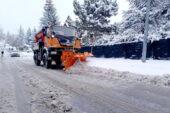 Çankaya'da kar seferberliği