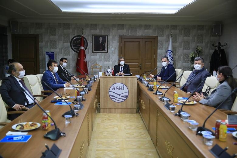 ASKİ ve Ankara Kent Konseyi su tasarrufu için iş birliği yapacak