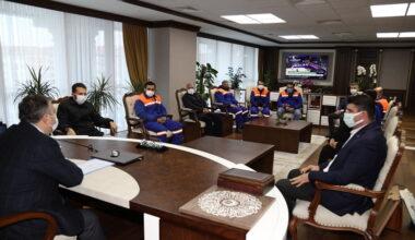 Çubuk Belediye Başkanı Demirbaş, Belediye Personeliyle BirAraya Geldi