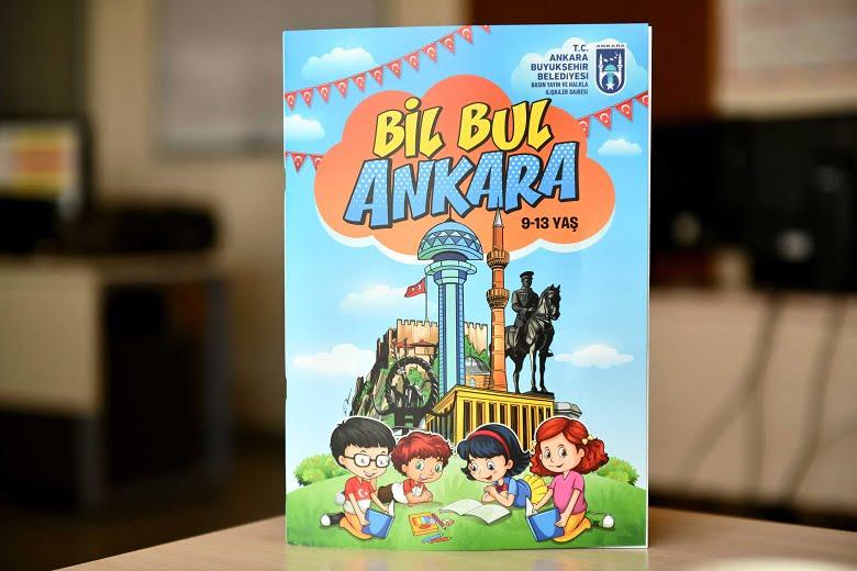Başkentli çocuklar Ankara'yı Büyükşehir kitaplarıyla öğrenecek