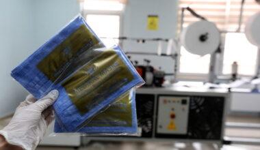 Yenimahalle aylık 1,5 milyon maske üretiyor
