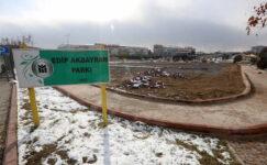 Edip Akbayram Parkı'nın çehresi değişiyor