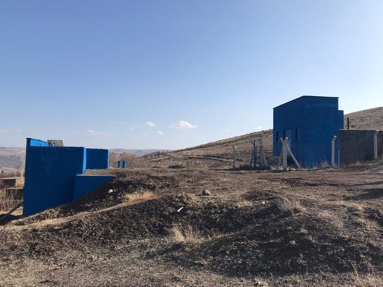 Kalecik Uyurca'nın içme suyu arıtma tesisi yenilendi