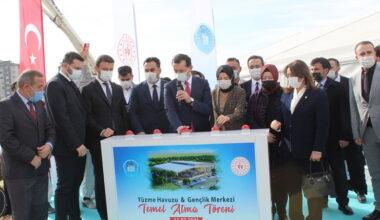 Akyurt Gençlik Merkezi ve Yüzme Havuzu'nun temeli atıldı