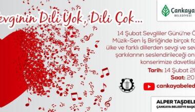 Çankaya 14 Şubat'ı müzik ve öykülerle kutluyor