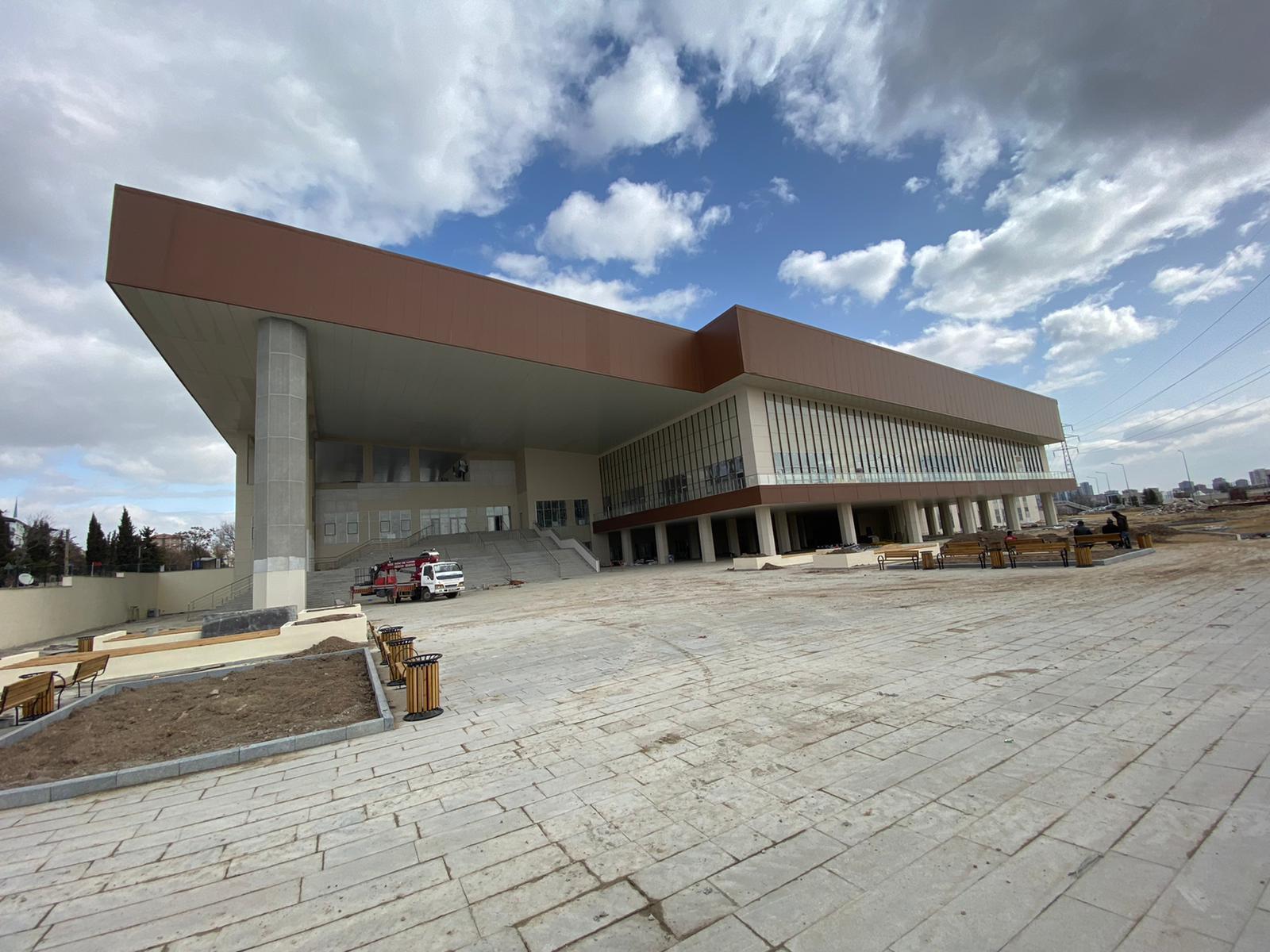 Sanatın merkezi Sincan'da yükseliyor