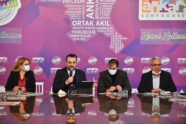 Ankara Kent Konseyi'nde Gündem: Kırsal Kalkınma