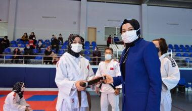 Akyurtlu judocuların kuşak heyecanı