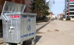 İki Mahallede Çöp Toplama Sistemi Değiştirildi
