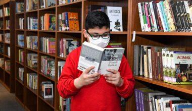 Kütüphanelere büyük ilgi
