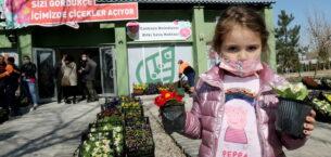 Çankaya Belediyesi'nden çiçek satış mağazası