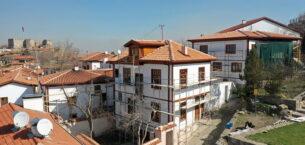 Ankara Kalesi sokak sağlıklaştırma 1. Etap'ta sona yaklaşıldı