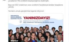 Yavaş sözünü tuttu: Başkent'te 6521 öğrencinin YKS ödemesi yapıldı