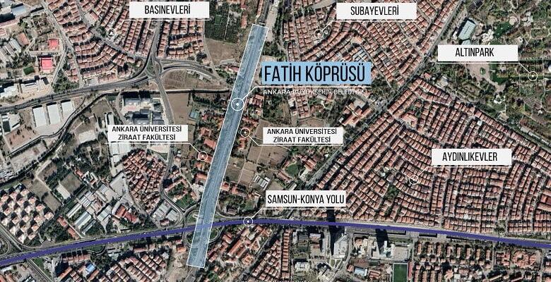 Büyükşehir'den Keçiören'in Trafik Sorununa Çözüm: Fatih Köprüsü Yenilenecek