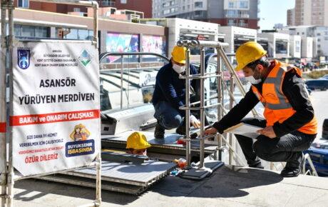 Başkent'te asansörler artık daha güvenli