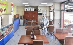 Mansur Yavaş'tan esnafa hijyen ve işgal harcı desteği