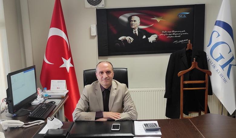 Akyurt SGK Müdürü Yaşar Irmak açıkladı: Yapılandırılmış prim ödemesinde son gün 31 Mart