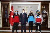 Çubuk Belediyesi Engelsiz Spor Kulübünden 2 sporcu millitakım kampına çağrıldı