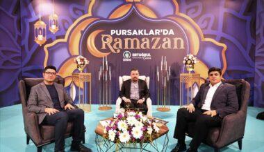 Pursaklar'da Ramazan programının konuğu Ertuğrul Çetin
