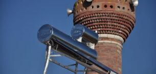 Gölbaşı'nın camileri ve kültür merkezleri güneş enerjisi ile ısınıyor