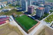 Şenol Güneş futbol sahası yeniden açıldı