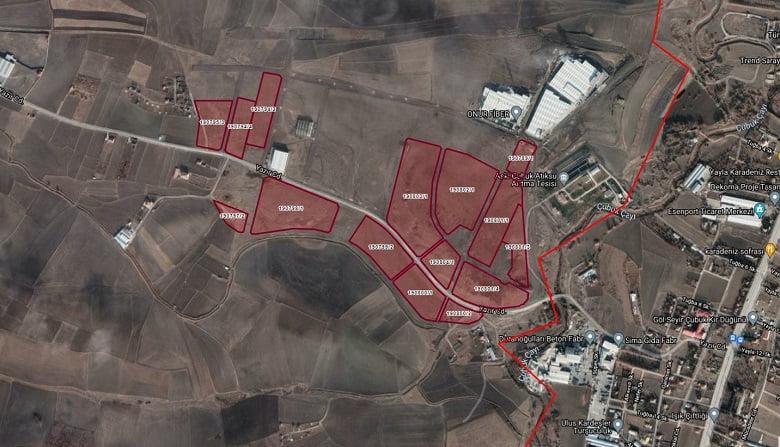 Büyükşehir Çubuk'taki arazilerini satışa çıkarıyor