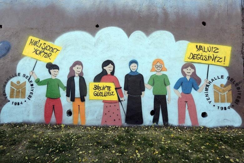 Yenimahalle grafiti ile renkleniyor