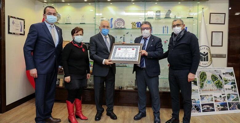 Başkan Yaşar'a Vefa Beratı