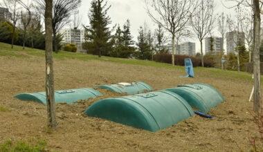 Başkent'in Parkları Yağmur Suyu İle Sulanacak