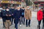 Başkan Altınok'tan Kızılcahamam'a geçmiş olsun ziyareti