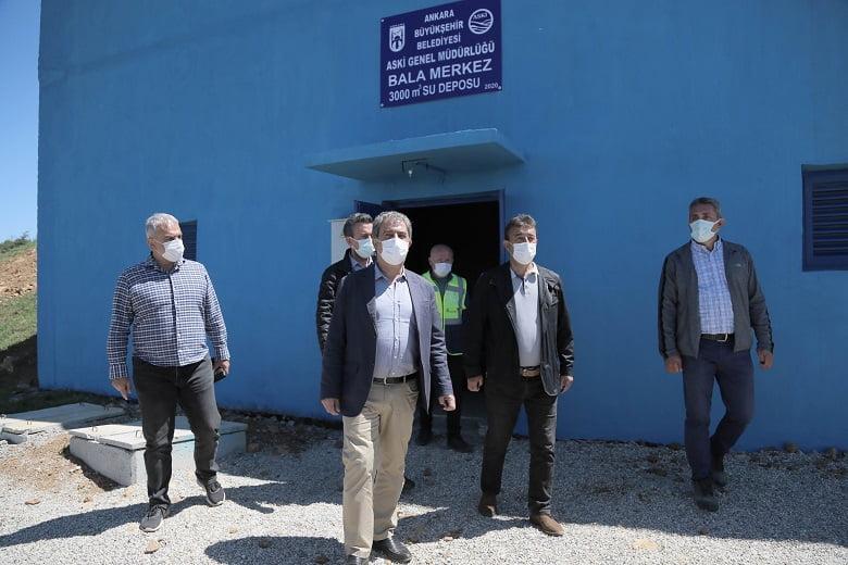 Bala'nın 40 yıllık içme suyu sorunu çözüme kavuşuyor