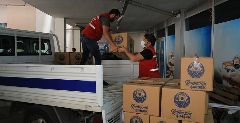 Gölbaşı Belediyesi 7 bin 250 aileye gıda yardımı ulaştırdı