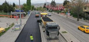 Tam kapanmada asfalt seferberliği