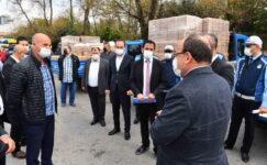 Büyükşehir'den 2 bin 850 minibüsçü esnafına destek