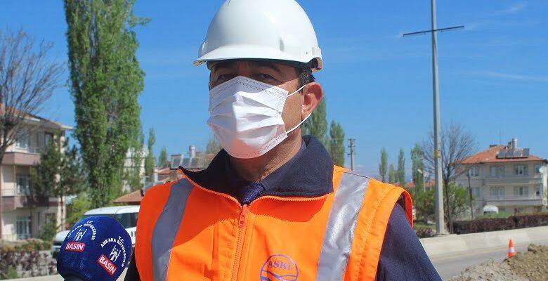 ASKİ Genel Müdür Yardımcısı Murat Tütüncü: Çubuk susuz kalmayacak