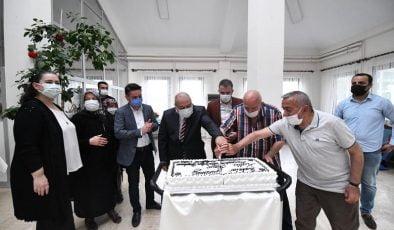 Başkan Ertuğrul Çetin'den Babalar Günü'nde Anlamlı Ziyaret